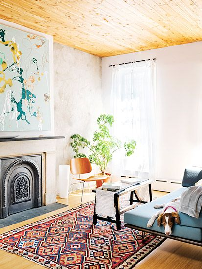 Tour+the+Most+Beautiful+Townhouses+With+Modern,+Eclectic+Style+via+@MyDomaine