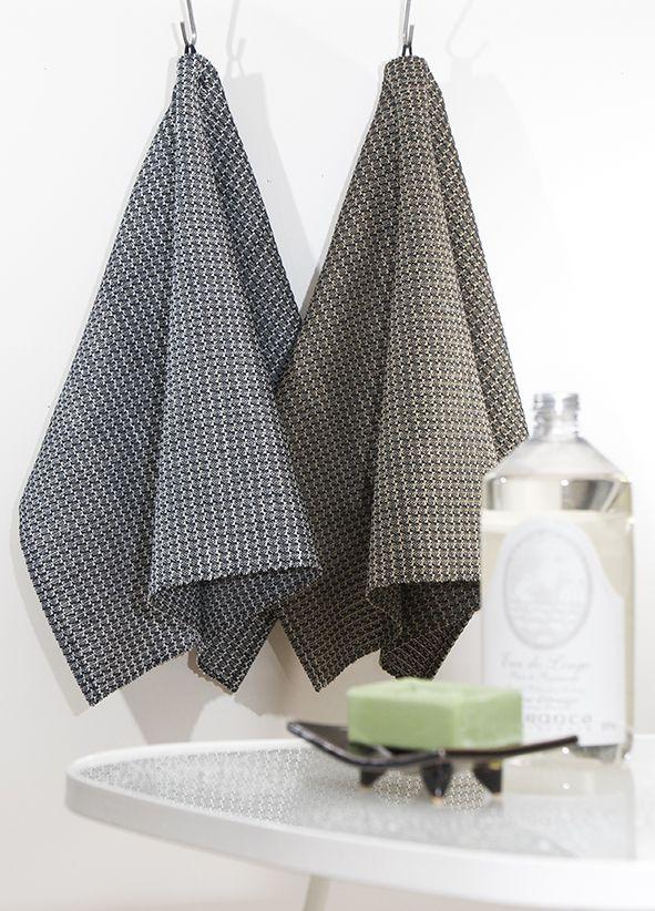 Linen towel Kaarna, weaving pattern (Lankava, photo Beata Kinnarinen) / Kaarna-pellavapyyhkeet, kudontamalli (Lankava, kuva Beata Kinnarinen)