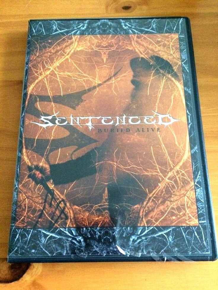 Sentenced: Buried Alive DVD All Regions Century Media HEAVY METAL Rock Concert #eBayDanna
