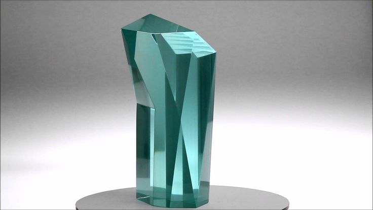 Glass Sculpture CHAPEL Jiri Karel