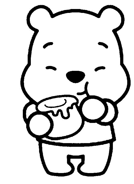cartoon critters disney cuties coloring pages - Cartoon Colouring Pictures
