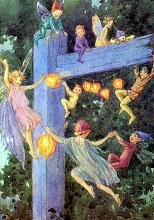 ≍ Nature's Fairy Nymphs ≍ magical elves, sprites, pixies and winged woodland faeries - Margaret Tarrant illustration