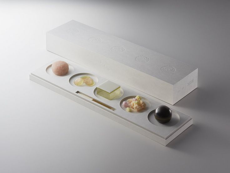 Wagashi sweets have always beenan art form as much asa culinary treat - they come in different colors and shapes throughout the year, matching theseason's natural features such as red maple leaves or cherry blossoms. But instead of following the seasons, designerKotaro Watanabe chose to have his