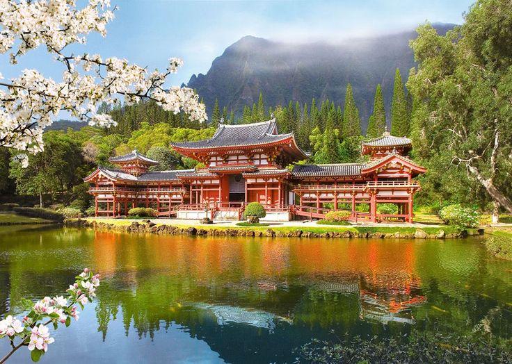 Castorland Puzzle 1000 T. Alter japanischer Tempel (C-101726) in Spielzeug, Puzzles & Geduldspiele, Puzzles | eBay
