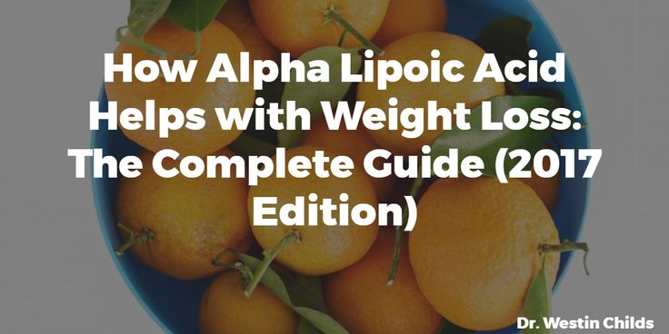 Alpha Lipoic Acid can help with weight loss by influencing insulin and testosterone (+ 3 other ways). Learn how to dose and use ALA properly in this guide.