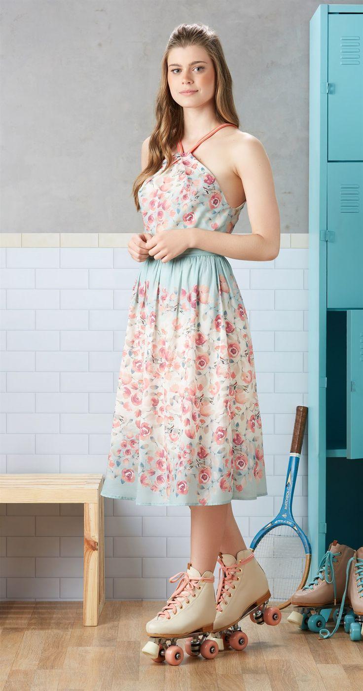 Só na Antix Store você encontra Vestido Flor de Hipismo com exclusividade na…