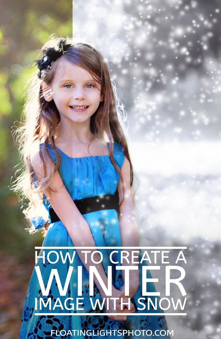How To Create A Winter Image With Snow In Photoshop | Free Quick Photoshop…