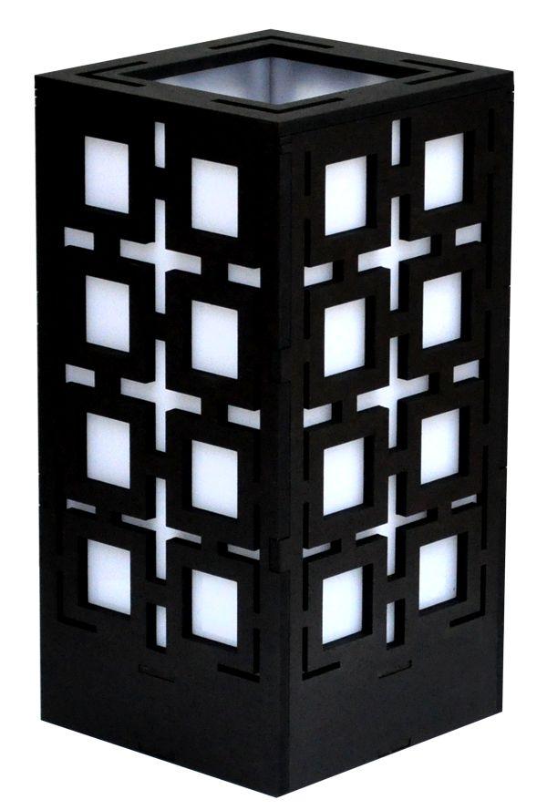 Squares Lamp in Black, White or Brown