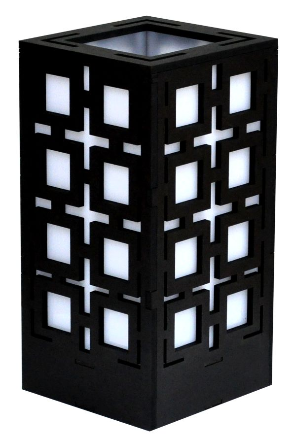Squares Lamp in Black, White or Brown