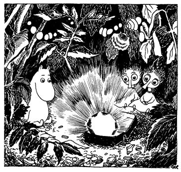 Moomin, Thingumy and Bob and the kings ruby