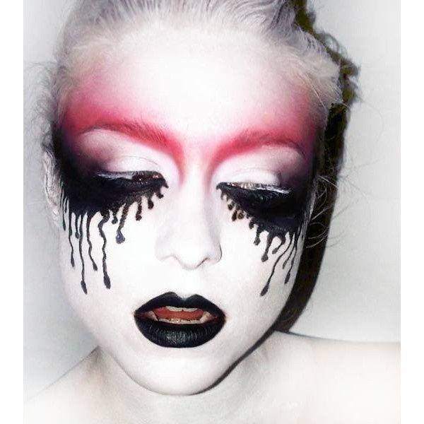 Halloween Makeup / Creepy Beautiful Lets Makeup - Beautiful Halloween Makeup