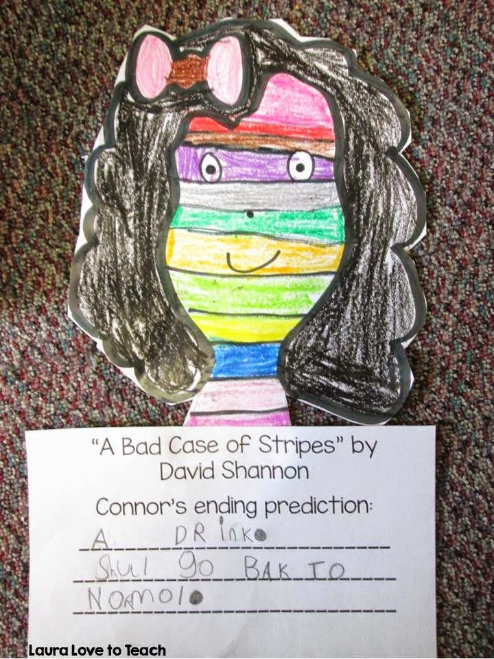 a bad case of the stripes coloring page - a bad case of the stripes by david shannon ela