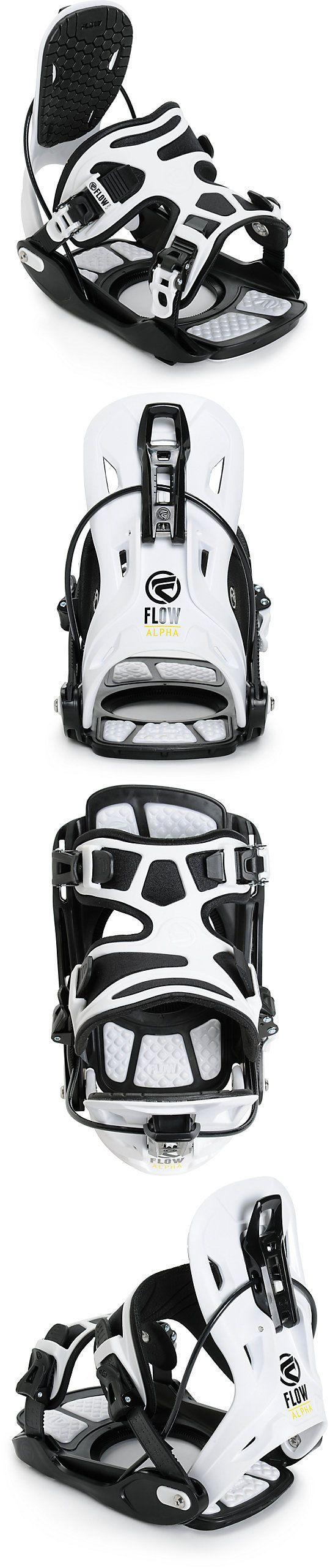 Bindings 21248: Alpha Stormtrooper Flow Snowboard Mens White Snowboard Bindings Size L -> BUY IT NOW ONLY: $44.99 on eBay!