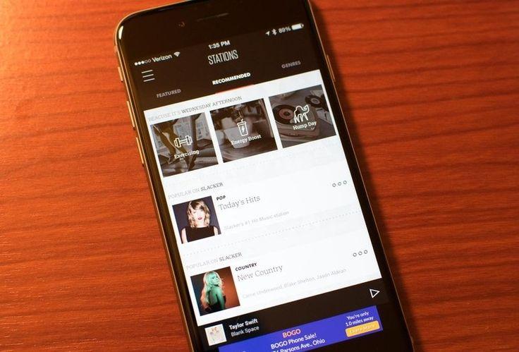 Slacker Radio app gets update for iOS devices Apple iOS