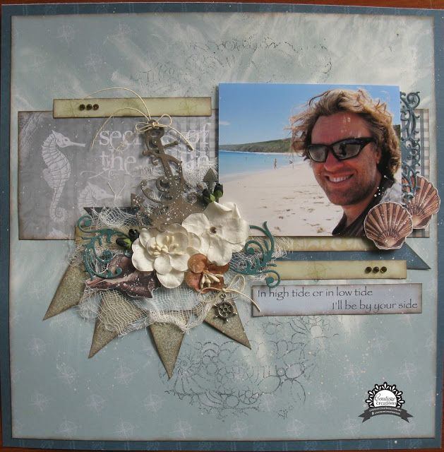 Artdeco Creations Brands: i'll be by your side layout created by Jo Simons