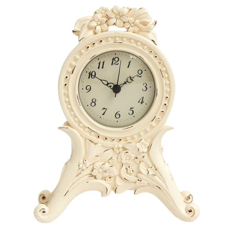 Laura Ashley  Masa Saati - Decoratıve Cream Mantel Clock : 69,90 TL | evmanya.com