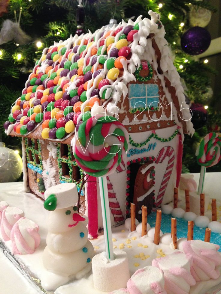 Gingerbread house by Maggie