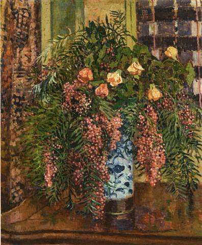 Pepper-tree and Flowering Maple / Faux-poivrier et abutillon