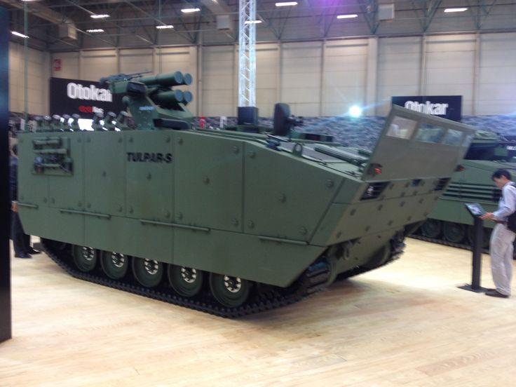 Tulpar Weapon Carrier