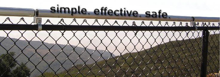 How to fix a chainlink fence so a dog wont jump it