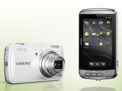 ニコン、Android 2.3搭載のコンパクトデジカメ「COOLPIX S800c」 - デジカメWatch