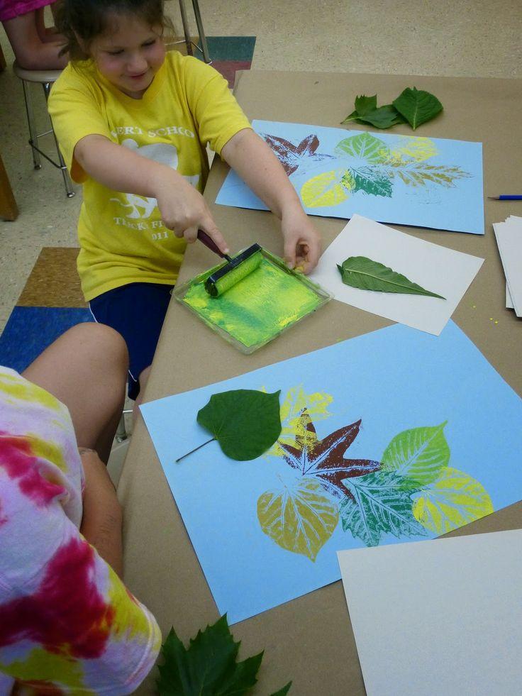 El Calvert lona: Aventuras en el Arte Escuela Secundaria de Arte !: Lower School Campamento!