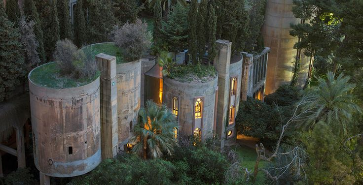 built from an architecturally-evolving cement factory from WWI, la fabrica takes on new life as the renovated studio and home of ricardo bofill.