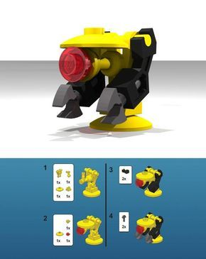 how to build something with legos