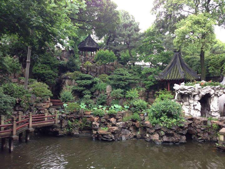 Yu Yuan Garden in Shanghai