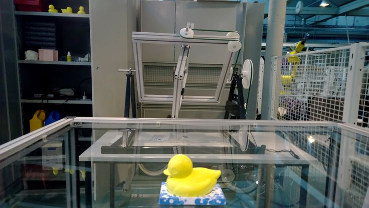 The duck making-machine in Technobothnia:)