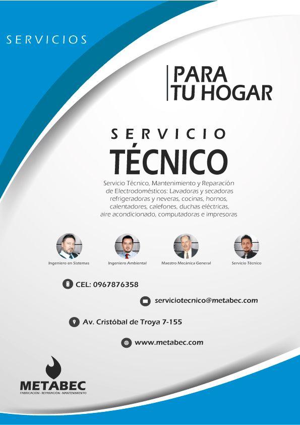 Servicio técnico, reparación de electrodomésticos Ibarra, Imbabura, Ecuador Contáctanos : (Whatsapp: 0967876358 - Claro: 0991353173 - Movistar: 0987239884)