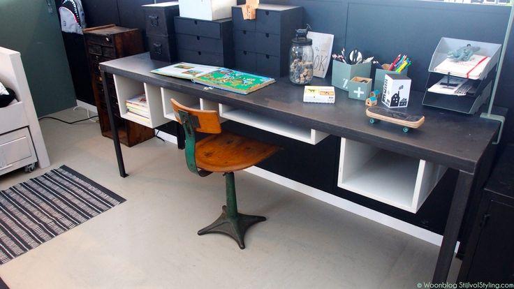 Interieur | Tips thuiswerkplek inrichten - Woonblog Stijlvol Styling.com | Beeld: Studio SBZ Interieur Design