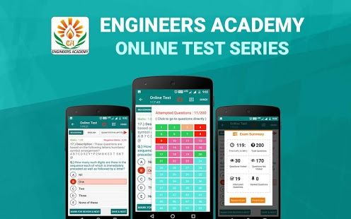 Engineers Academy offers best online test series for GATE 2018 Exam in Mechanical, Civil, Electrical, electronics and communication, chemical, instrumentation and computer science engineering with free GATE online mock test.