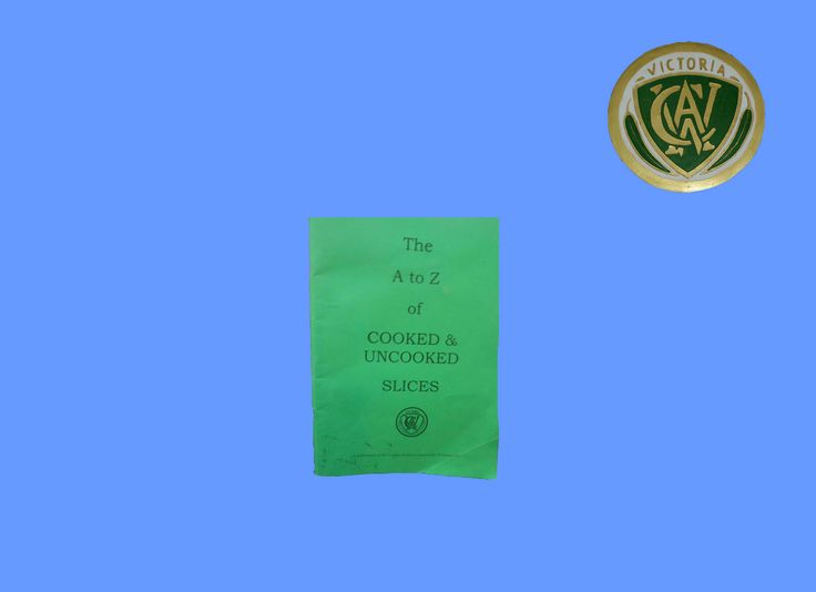 #BookReview #TheAtoZofCookedandUncookedSlices by the #CWA of Victoria. #Nonfiction #cookbook Read more at http://scatterbooker.wordpress.com/