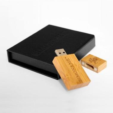 USB Stick aus Holz 1
