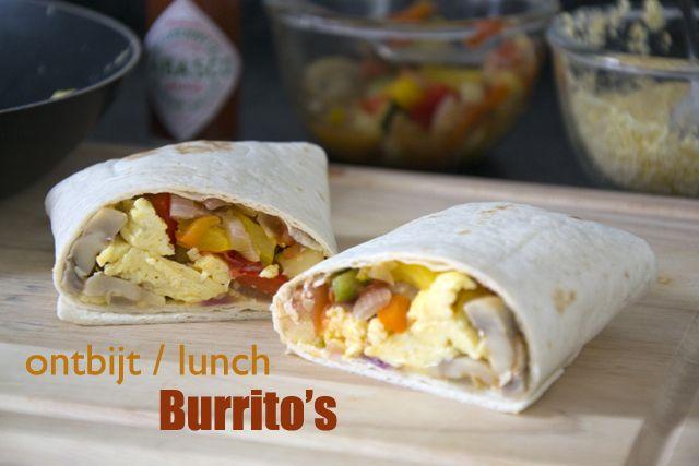 Ontbijt burrito's - Brenda Kookt!