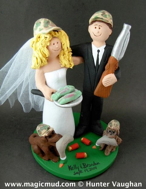 duck hunting wedding cake toppers 83 best fishing catch weddings theme 13777
