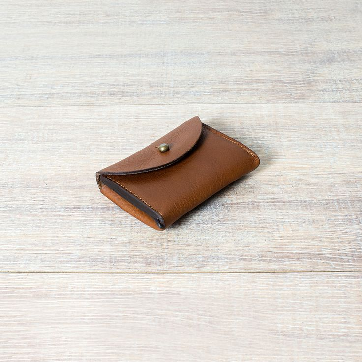 Bleu de Chauffe, porte monnaie Talbin - Shoemaker purse Talbin #leathergoods #leather