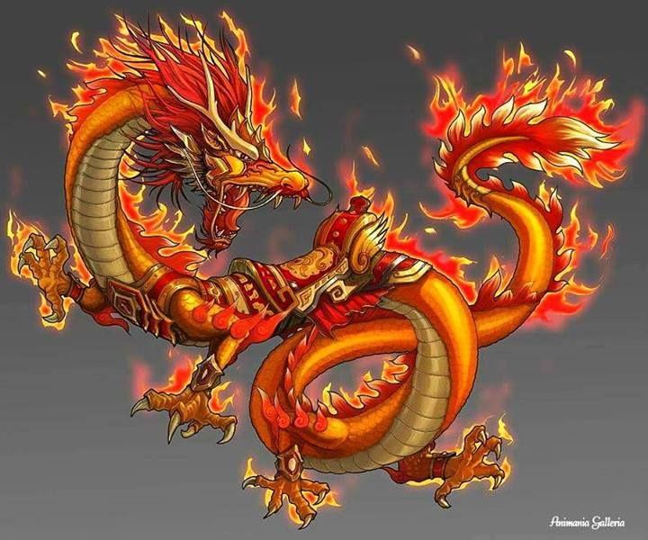 Картинки китайские драконы
