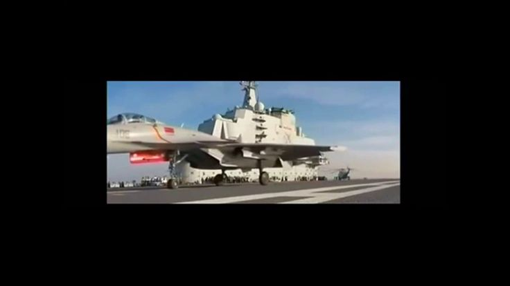 China's Military drill with warships and fighter aircrafts