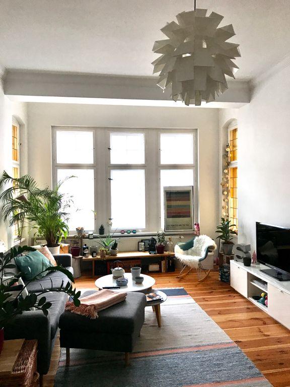 Tolles Wohnzimmer in Altbauwohnung in Berlin   Wohnung einrichten, Wohnung, Altbau wohnzimmer