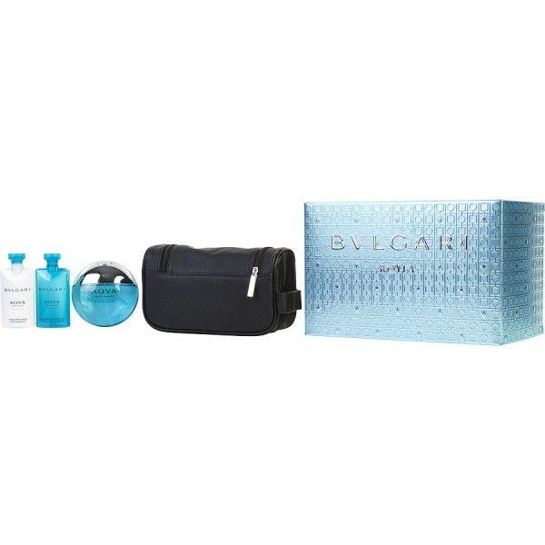 079f44b81faf ... de toilette par Bvlgari, pour homme, présentée sous forme de coffret  cadeau et contenant dans une trousse de toilette une Eau de Toilette Spray 100  ml, ...