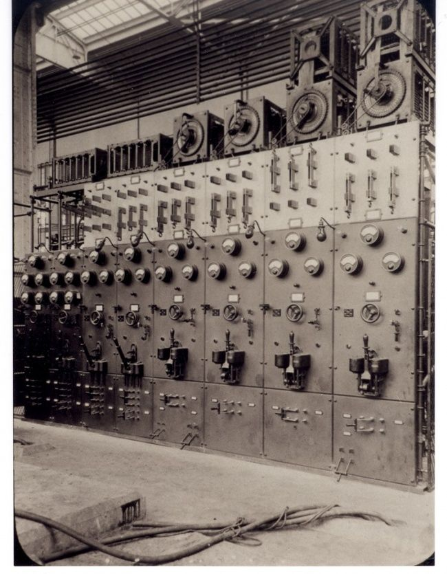 9 best vintage electrical switchboards images on pinterest for General electric motor company