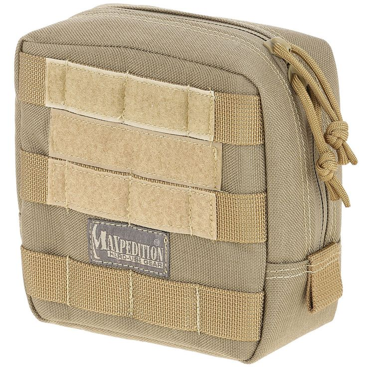 """Maxpedition - 6"""" x 6"""" Padded Pouch - Check out our collection of MOLLE Gear, MOLLE Pouches, Velcro Pouches, Tactical Pouches, MOLLE Tactical Gear, Modular Pouches, Modular MOLLE Pouches, Modular MOLLE Velcro Pouches, First Aid Pouches, Medical MOLLE Pouches, Molle Gadget Pouch, EMT Pouch, First Aid MOLLE pouches, M.O.L.L.E Compatible Gear, Airsoft MOLLE Pouches, Hydration Pouches, Munitions Pouches, Rip-away Pouches, Modular Gear, Utility and Dedicated Pouches."""