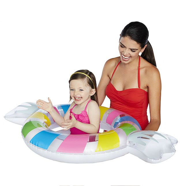 Lil' Penny Candy Pool Float – Active Play for Ages 1 to 3 – Fat Brain Toys