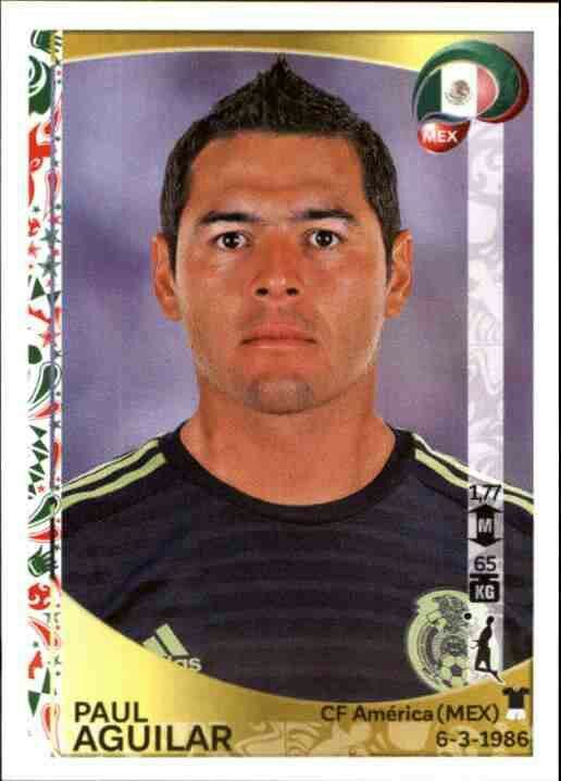 Paul Aguilar of Mexico.  2016 Copa America card.