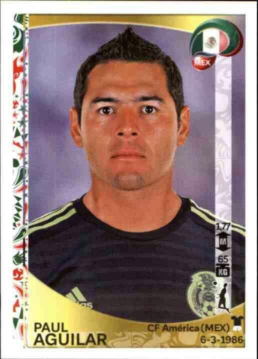 Paul Aguilar of Mexico.  2016 Copa America card.