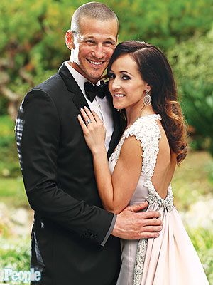 Bachelorette's Ashley & J.P. Rosenbaum's Wedding Photo. I watched this last night and it actually made me cry! They're so on love a d I hope they stay together forever. <3