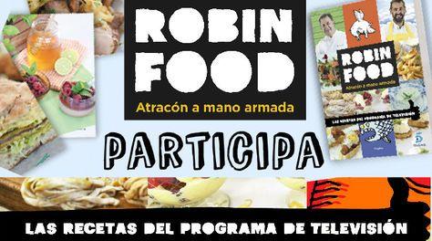 ¡Conviértete en un cocinero diez con el libro de recetas de Robin Food!