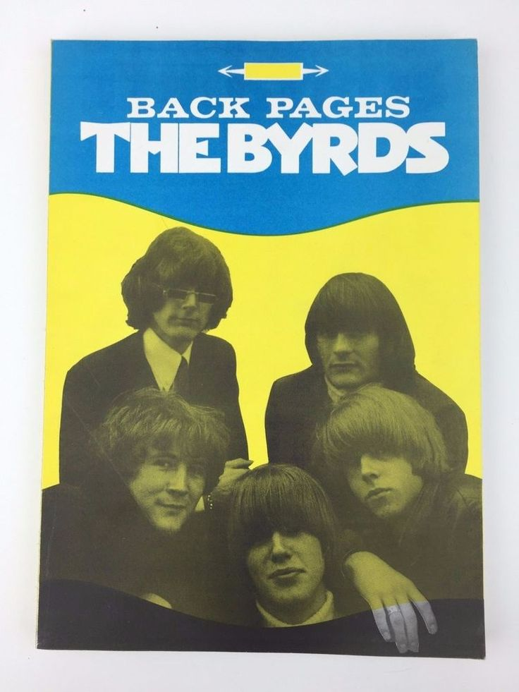 The Byrds Back Pages A Collection Of Cuttings Newspaper Book Rare